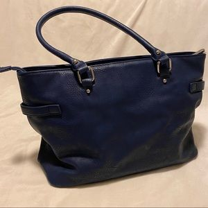 Charming Charlie Bags - Navy blue Charming Charlie tote